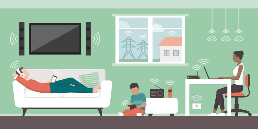 förlänga trådlöst nätverk