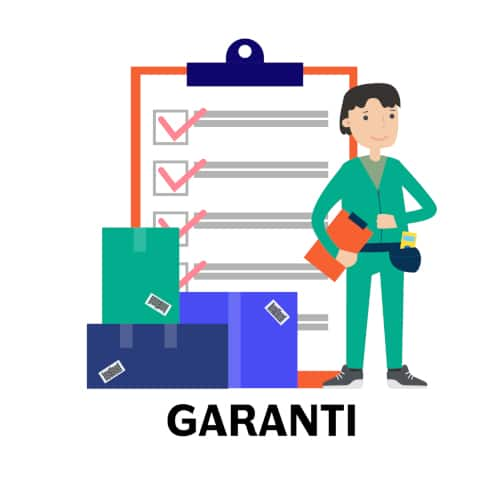 garanti - dra nätverkskabel